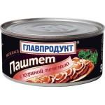 Паштет ГЛАВПРОДУКТ Куриная Печень, 315г