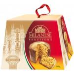 Кулич пасхальный MILANESE с цукатами и изюмом, 500г