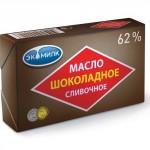 Масло шоколадное ЭКОМИЛК 62%, 180г