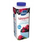 Йогурт питьевой VALIO малина-черника 0,4%, 330 г