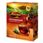 Чай ЛИСМА черный насыщеный, 100х2г
