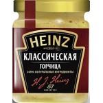 Горчица HEINZ Классическая, 185г