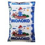 Молоко ПЕСТРАВКА 1,5%, 900 г