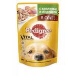Корм для собак PEDIGREE с кроликом и индейкой , 100 г