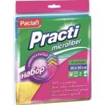 Салфетки PACLAN из микрофибры в упаковке, 4шт