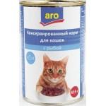 Корм для кошек ARO с Рыбой, 415г