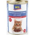 Корм для Кошек ARO с Говядиной, 415г