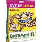 Готовый завтрак NESTLE Nesquik Duo пакет, 250г