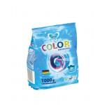 Стиральный порошок-концентрат MIKAS COLOR для цветного белья, 1 кг