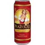 Пиво PRAZАCKA ж/б, 0,5л