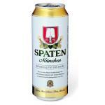 Пиво светлое SPATEN Munchen железная банка, 0,5л