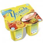 Йогурт УСЛАДА с соком персика и маракуйи 1,2%, 4х95г