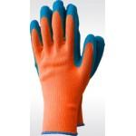 Перчатки зимние с рельефным покрытием