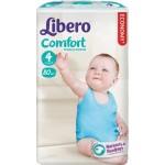 Подгузники LIBERO Comfort maxi 4 (7-14кг), 80шт