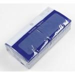 Салфетки бумажные METRO PROFESSIONAL двухслойные синие 24х24см в упаковке, 250 шт