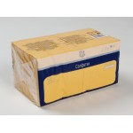 Салфетки бумажные METRO PROFESSIONAL двухслойные желтые 24х24см в упаковке, 250 шт