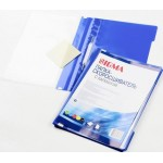 Скоросшиватель пластиковый SIGMA с карманом А4