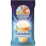 Мороженое пломбир КОРОВКА ИЗ КОРЕНОВКИ вафельный стаканчик, 100г