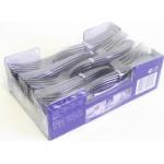 Вилки одноразовые HORECA SELECT металлизированные в упаковке, 50 шт