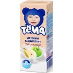 Питьевой йогурт ТЁМА груша/яблоко 2,8%, 210 г