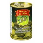 Оливки с огурчиком MAESTRO DE OLIVA, 300г