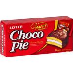 Пирожное CHOCO PIE Lotte, 168г