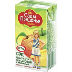 Сок детский САДЫ ПРИДОНЬЯ Яблоко-Персик, 125г