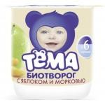 Творог ТЁМА Груша 4,2%, 100г