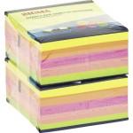 Бумажные блоки SIGMA желтые 76х76 400л, 2шт