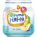 Пюре ФРУТОНЯНЯ из груш в банке, 100 г
