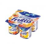 Йогуртовый продукт FRUTTIS Вишневый пломбир и Груша-ваниль 8%, 115 г