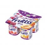 Йогурт CAMPINA Fruttis Малина-ананас-дыня 8%, 115 г