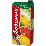 Нектар ЛЮБИМЫЙ Грейпфрут и Лимон, 0,95 л