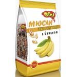 Мюсли ОГО! запеченные с бананом, 350г