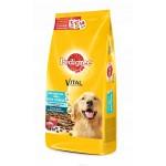 Сухой корм PEDIGREE для взрослых собак всех пород с говядиной, 2200 гр