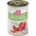 Томаты резаные FINE LIFE в томатном соусе, 400г