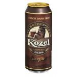 Пиво темное VELKOPOPOVICKY KOZEL лагер железная банка, 0,5л