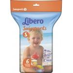 Подгузники-трусы для плавания LIBERO S 4 (7-12кг), 6шт
