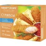 Стрипсы куриные МИРАТОРГ с сыром и розмарином, 340г
