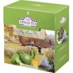 Чай зеленый пакетированный AHMAD TEA Лаймовый пирог, 20х1,8 г