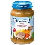 Рагу GERBER из телятины с овощами, 190г