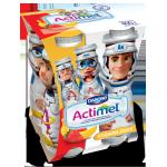 Кисломолочный продукт ACTIMEL KIDS клубника/банан, 100г