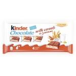 Шоколад KINDER молочный со злаками, 96г