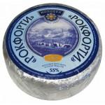 Сыр с голубой плесенью РОКФОРТИ 55%, ~2,6кг