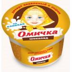 Десерт плавленый сырный шоколадный ОМИЧКА, 100г