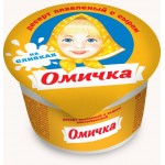 Десерт плавленый сырный ОМИЧКА, 100г