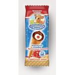 Мороженое пломбир КОРОВКА ИЗ КОРЕНОВКИ с брусничным джемом вафельный стаканчик, 70г