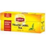 Чай LIPTON Yellow Label черный, 20х2г