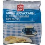 Круассаны FINE LIFE мини с ванильным кремом, 200 г