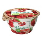 Йогурт ВКУСНОТЕЕВО с клубникой 3,5%, 140г